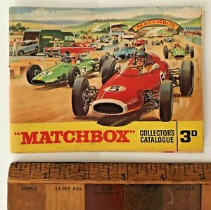 VINTAGE-1965-LESNEY-MATCHBOX-1-75-TOY-CAR-CATALOGUE-KING-SIZE-YESTERYEARS-EXC