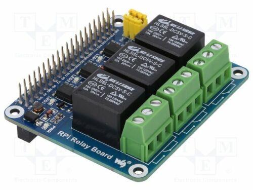 Relé Módulo: Sombrero de canales: 3 aplicación: Raspberry Pi [1 piezas]