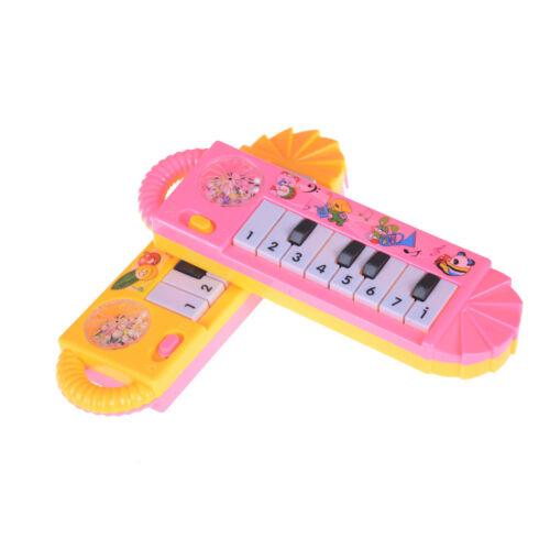 ular Mini Plastic Electronic Keyboard Piano Kid Toy Musical Instrument SU