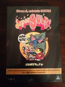 COFANETTO-LIBRO-DVD-SUPER-GULP-I-FUMETTI-IN-TV-2007-sigillato-ALAN-FORD