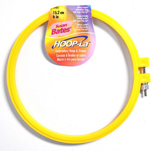 Susan Bates Hoop-La Embroidery Hoop 6 Inch