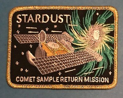 NASA Stardust Spacecraft JPL Comet Sample Return Mission Jacket Patch Crest