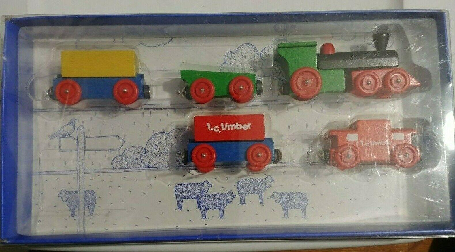 THE WESTERN FLYER TRAIN TC Timber Vintage Sealed  NIB Rare!    HTF