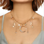 Women-039-s-Multilayer-Jewelry-Choker-Necklace-Crystal-Star-Moon-Pendant-Gold-Chain thumbnail 1