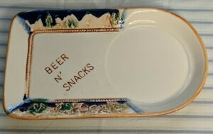 Vintage-Parksmith-Corp-New-York-Beer-N-Snacks-Dish-tray-only
