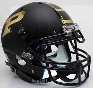 PURDUE-BOILERMAKERS-NCAA-Schutt-AiR-XP-Full-Size-AUTHENTIC-Football-Helmet