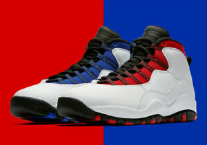 on sale eafd5 493a6 Details about NEW IN BOX: NIKE AIR JORDAN 10 RETRO WHITE/BLACK-UNIV RED  SIZE 11 (310805160)