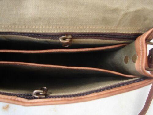 Men/'s New Genuine Vintage Brown Leather Messenger Bag Women