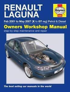 Renault-Laguna-Petrol-and-Diesel-Owners-Workshop-Manual-2001-2005-by-NEW-Book