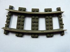 Lego City Eisenbahn 9 Volt gebogene Schiene 2 Stück (sch-32)