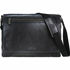 "Kenneth Cole Reaction Compu-Messenger 16"" Laptop / MacBook Pro Messenger Bag New"