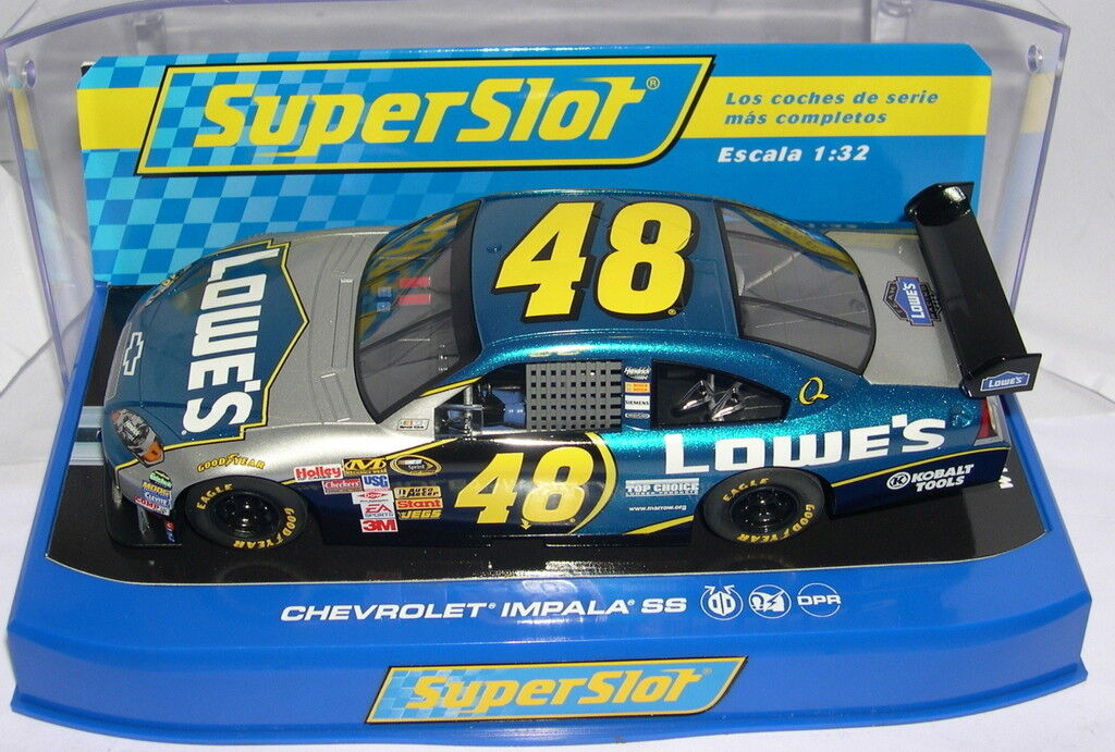 Qq order H2894 CHEVROLET IMPALA SS JIMMIE JOHNSON SCALEXTRIC UK MB