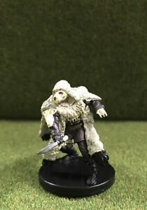 Icewind Dale Rime of the Frostmaiden #1 D/&D Miniature Reghed Nomad with Cage