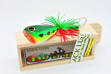 TOPWATER WOOD Jumping Frog 5.5 cm handmade lure fishing snakehead sports game