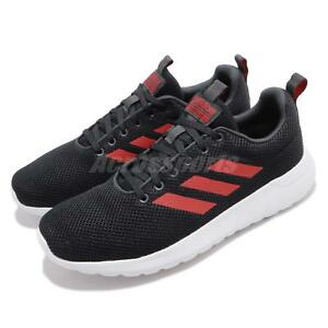 newest collection 89c39 84cc8 Image is loading adidas-Lite-Racer-CLN-Black-Red-White-Men-