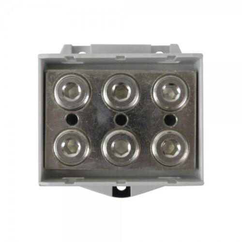 Hauptleitungsklemme 6x 25-150mm2 grau 1P OTL 150-3 MAA3150A10 Morek 4344