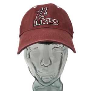 Top-of-the-World-UMass-Minutemen-Baseball-Cap-Hat-NCAA-Cotton-OSFM-Strap-Back