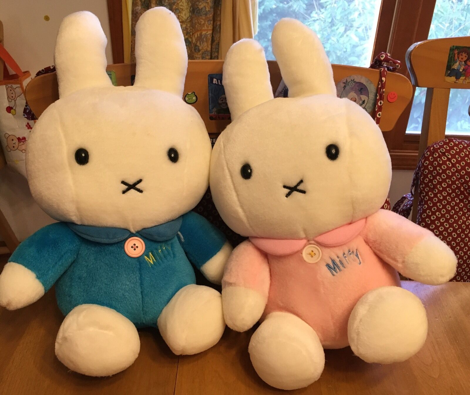 NEW - Set of 2 Japanese Miffy Plush Dolls 15