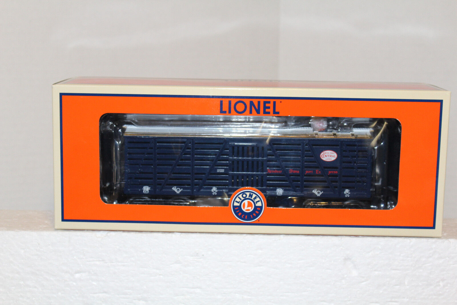 LIONEL   84341 Reindeer Tell Tale Operating Car