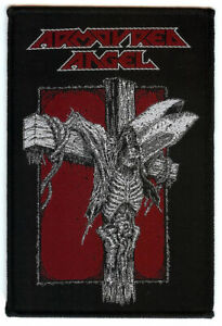 Armoured-Angel-Crucify-The-Clergy-Patch-Thrash-Metal-Aussie-Metal-Death-Metal