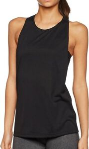 Details about adidas Performer Womens Sports Vest Black Exercise Gym Training Tank Top Large