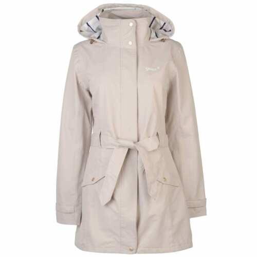 Gelert Femme Fairlight Veste Imperméable Manteau Haut à Capuche Léger Zip complet