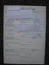 Ford Taunus Turnier 1,6 ltr  53 PS  Bj.1972 Kombi  5 Sitzer Datenblatt  Brief NH