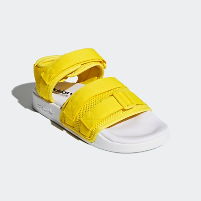5b444ba4e015ce New Adidas Original Womens ADILETTE SANDAL CQ2673 YELLOW WHITE US W 5 - 10  TAKSE