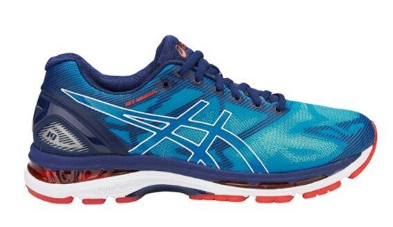 Authentic Asics Gel Nimbus 19 Mens Running Shoes (D) (4301)