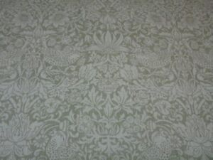 Image Is Loading WILLIAM MORRIS CURTAIN FABRIC PURE STRAWBERRY THIEF 3