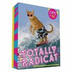 Totally Radicat 20 Notecards and Envelopes Cats of 1986 Chronicle Books