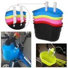 children/'s bike basket plastic bicycle bag kids scooter handle bar basket TSADE