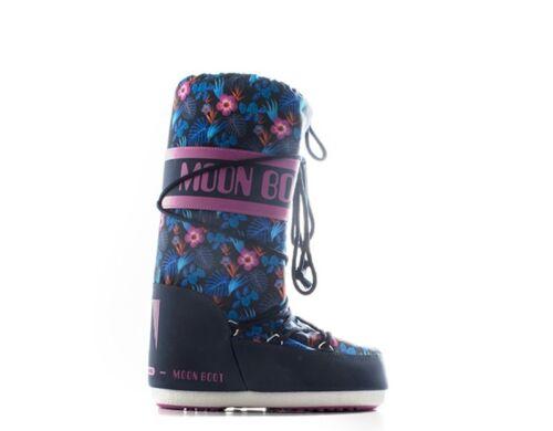 Schuhe MOON BOOT Frau BLU//ORCHIDEA Stoff 14020100-001