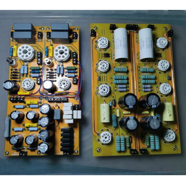 HiFi Stereo Vacuum Tube Preamp + Power Board DIY Amplifier ...