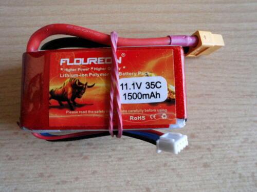 Lipo 3s Floureon 11.1 V  35C   1500mAh