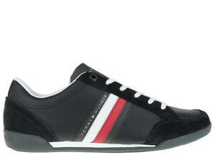 neueste UK Verfügbarkeit detaillierte Bilder Details zu Herren Sneaker Tommy Hilfiger Corporate Material Sneakers  FM0FM02046-403