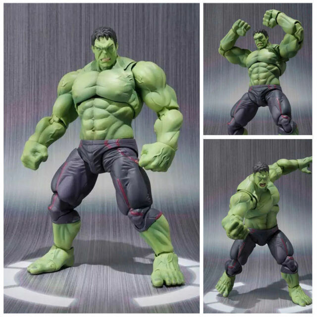 Marvel Avengers Super Hero Incredible Hulk Action Figure Toy Doll Collection NB