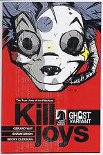 True Lives Fabulous Killjoys 1 Ghost Variant Gerard Way Cover MCR Comic NM