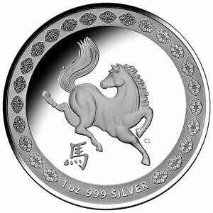 2014-1-Australia-Year-of-the-Horse-Proof-Silver-Coin-999-Silver-Australian-RAM