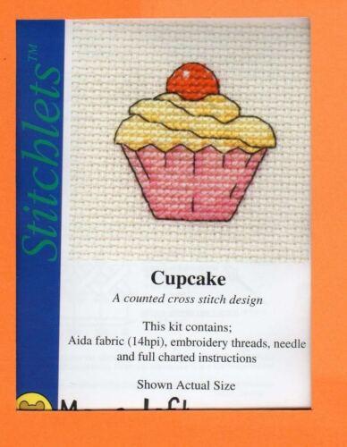 Stitchlets X Stitch Kit por mouseloft Cupcake