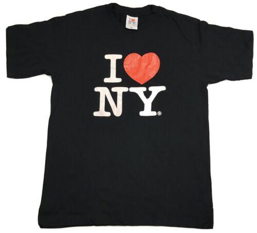 I LOVE NY BLACK T-SHIRT SIZE MEDIUM