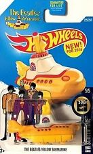 Hot Wheels The Beatles Yellow Submarine Diecast Car New in Package NIB 225/250