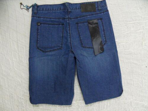 skinny 34 con Heyzeus taglia color Shorts blu 32 Bnwt in scuro denim montatura Annqt46H