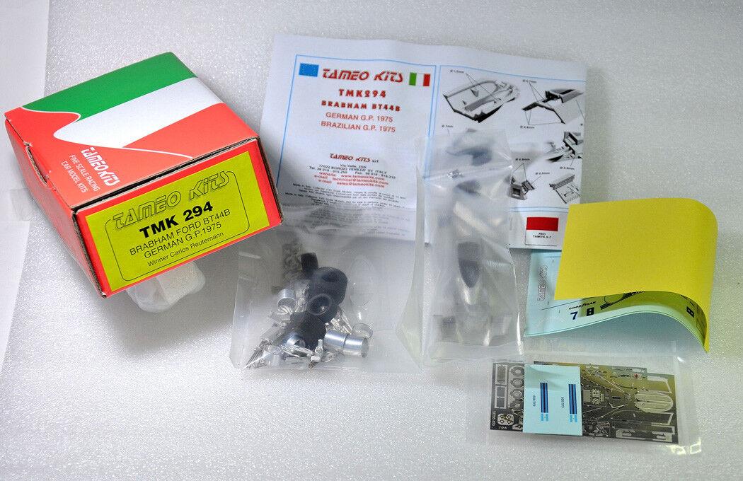 Tameo Kits Brabham BT44B BT44B BT44B GerFemme GP 1975 Winner Carlos ReuteFemmen TMK 294 1/43 | La Mise à Jour De Style  af5da7
