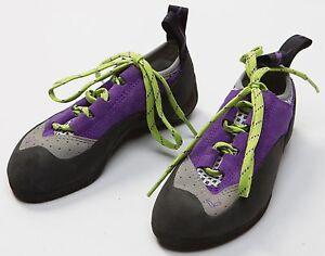 Women's Evolv Nikita TRAX Rock Climbing Caving Shoes Size Sz EU 34.5 US 4.5 NEW