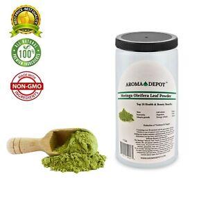 1lb-Moringa-leaf-Powder-Great-For-Energy-Nutrition-Pure-Natural-Organic-JAR