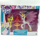 My little pony toys MLP figure Princess Celestia & Fluttershy with box