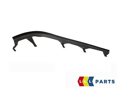 NEW GENUINE BMW 3 SERIES E46 FRONT UPPER HEADLIGHT COVER STRIP PAIR LEFT RIGHT