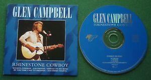 Glen-Campbell-Rhinestone-Cowboy-inc-Gentle-On-My-Mind-Crying-Live-Rec-CD