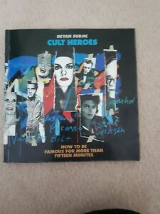 Cult-Heroes-by-Deyan-Sudjic-Paperback-1989